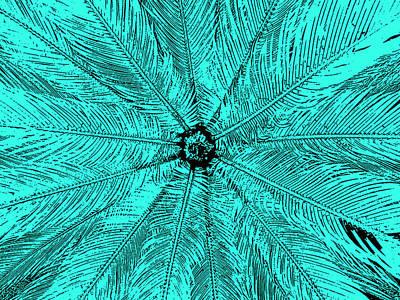 Digital Art - Teal Tantra II by James Granberry