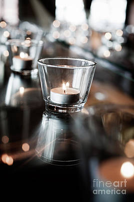 Photograph - Tealights by Kati Finell