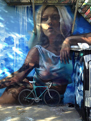 Cycling Wall Art - Photograph - Tealy Dan - In Good Company by Kreddible Trout