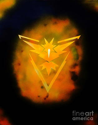Painting - Team Instinct by Justin Moore