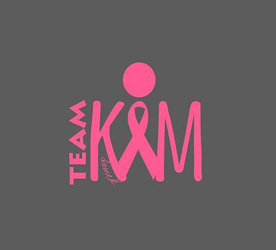 Digital Art - Team Kim by Ted Domek