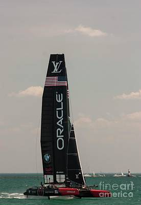 Photograph - Team Oracle U S A by David Bearden