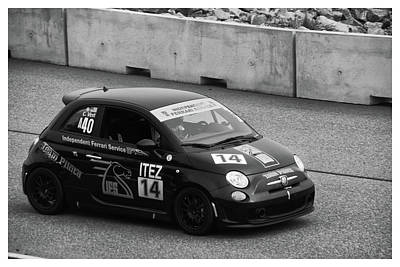Photograph - Team Pilota 14 All Alone by Mike Martin
