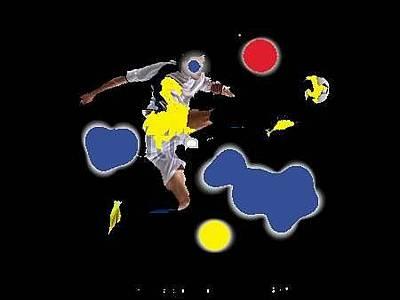 Digital Art - Team Player by Al Pascucci