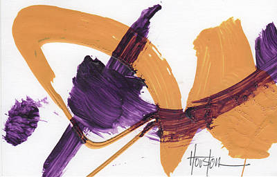 Sports Paintings - Team Sports Colors 00025 by Dan Houston
