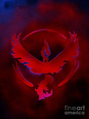 Painting - Team Valor by Justin Moore