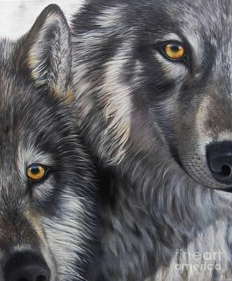 Painting - Teammates by Nanda Hoep