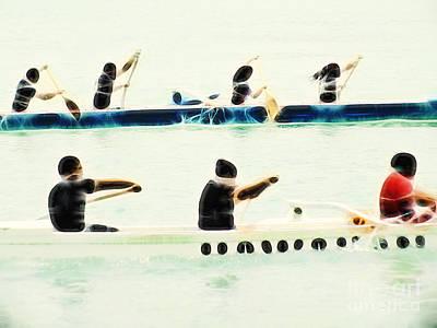 Canoeing Photograph - Teamwork Nbr2 by Scott Cameron