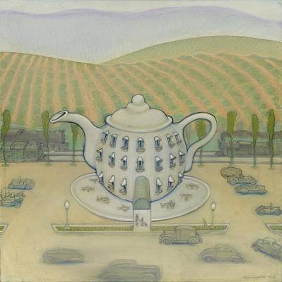 Teapot Painting - Teapot by John Reynolds