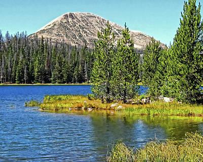 Photograph - Teapot Lake by David King