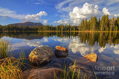 Teapot Lake Art Print