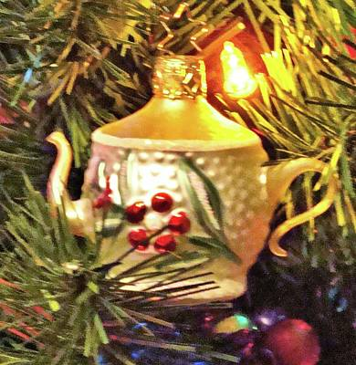 Photograph - Teapot On The Tree by Janette Boyd