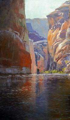 Painting - Teapot Point Colorado River by Jessica Anne Thomas