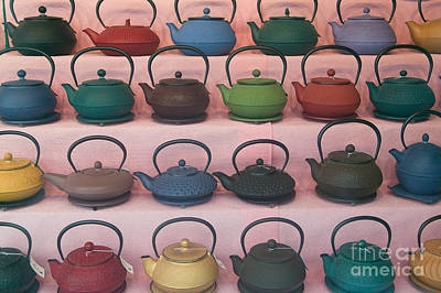Photograph - Teapots by Clarence Holmes