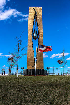 Just Do It Photograph - Tear Drop Monument by Ashley Germain