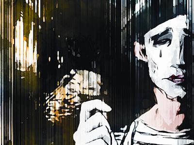 Teardrop Print by Alexei Sukharevskyi