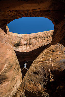 Photograph - Teardrop Arch by Whit Richardson