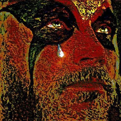Teardrop. Mask. Original by Andy Za