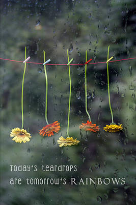 Teardrops Art Print by Joana Kruse