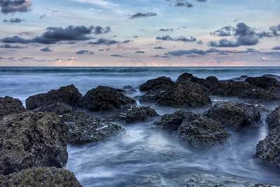 Photograph - Tearing Rocks  by Juan Montalvo