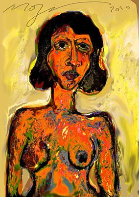 Tearless Art Print