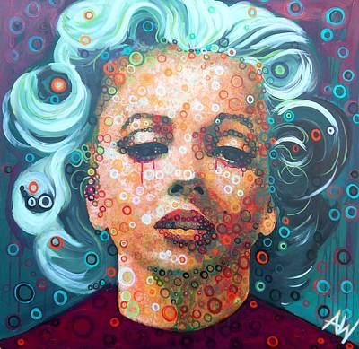Tears Original by Angie Wright