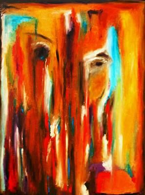 Sympathy Painting - Tears For Haiti by Vel Verrept