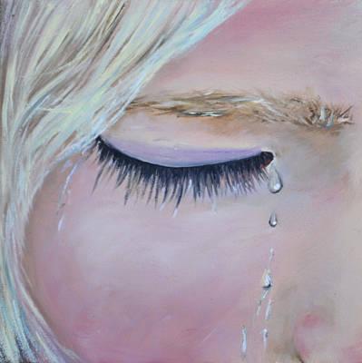 Tears Original by Laura Leigh McCall