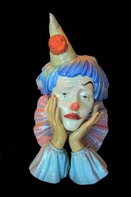 Photograph - Tears Of A Clown Series 2 by Carlos Diaz