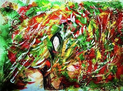 Painting - Tears Of Colour by Wanvisa Klawklean