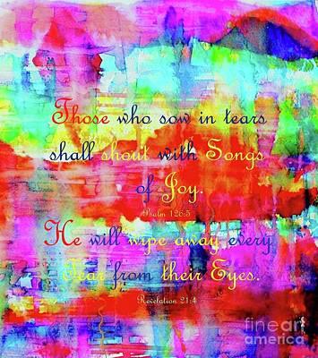 Painting - Tears Of Joy by Hazel Holland
