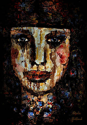 Loneliness Mixed Media - Tears Of Sadness by Natalie Holland