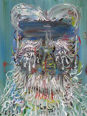 Painting - Tears Of The Bearded Man by Fabrizio Cassetta
