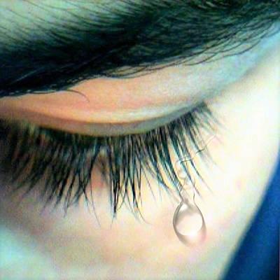 Jenna Thomas Wall Art - Digital Art - Tears Say All by Jennifer Thomas