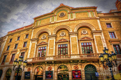 Photograph - Teatre Principal by Sue Melvin