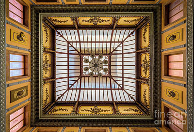 Guanajuato Photograph - Teatro Juarez Ceiling by Inge Johnsson