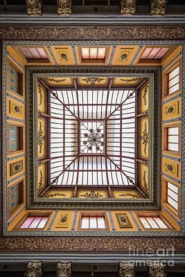 Guanajuato Photograph - Teatro Juarez Skylight by Inge Johnsson