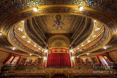 Guanajuato Photograph - Teatro Juarez Stage by Inge Johnsson
