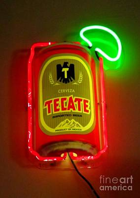 Ale Mixed Media - Tecate by John Malone