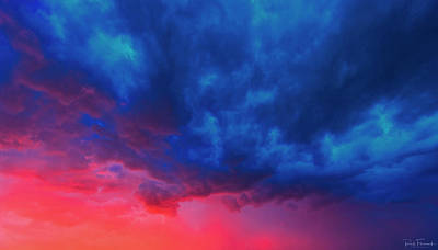 Photograph - Technicolor Sky by Rick Furmanek