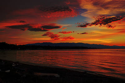 Photograph - Technicolour Sky by Randy Hall