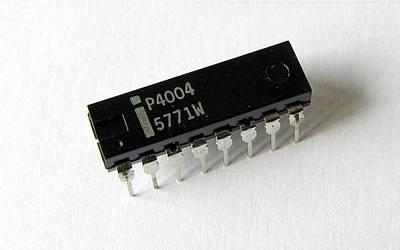 Microchip Digital Art - Technology Microchip                     by F S