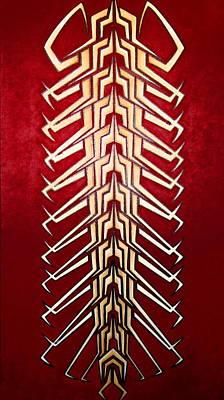 Technopede 3 Print by Stefan Johnson