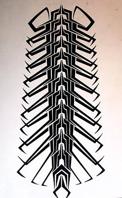 Technopede  Print by Stefan Johnson