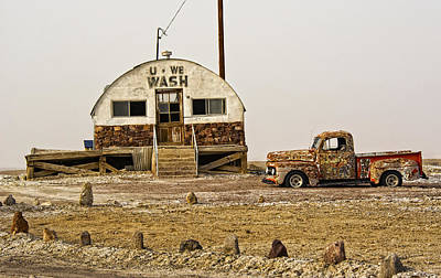 Photograph - Tecopa Old Relics by Phil Cardamone