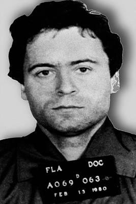Ted Bundy Mug Shot 1980 Vertical  Original