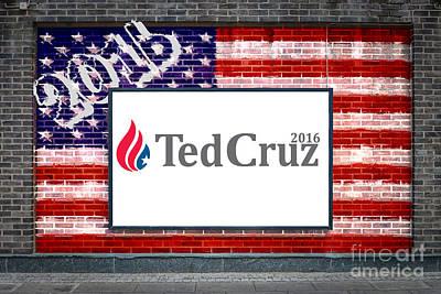 Ted Cruz For President Art Print