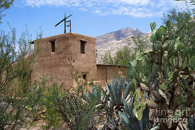 Ted Degrazia Chapel Print by Tim Hightower