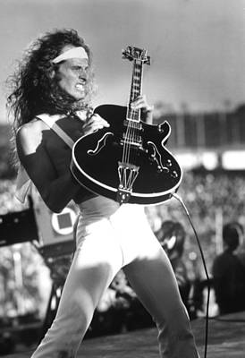 Ted Nugent, Portrait Ca. 1980s Art Print by Everett