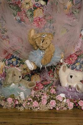 Photograph - Teddy Bear Dancers by Mary J Tait